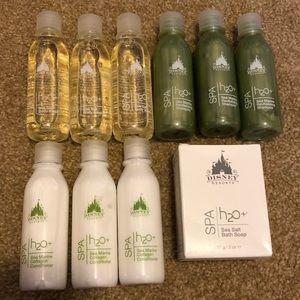 Disney Aulani H2O Shampoos Conditioners Soaps 10pc